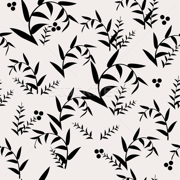ベクトル 抽象的な シームレス 葉 パターン 葉 ストックフォト © Dahlia