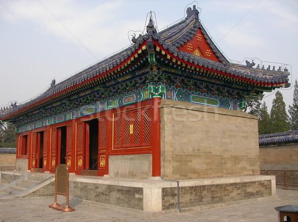 Chinese temple Stock photo © daneel