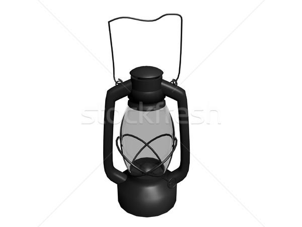 Old oil lamp Stock photo © daneel
