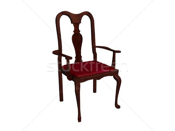 Old wooden chair Stock photo © daneel