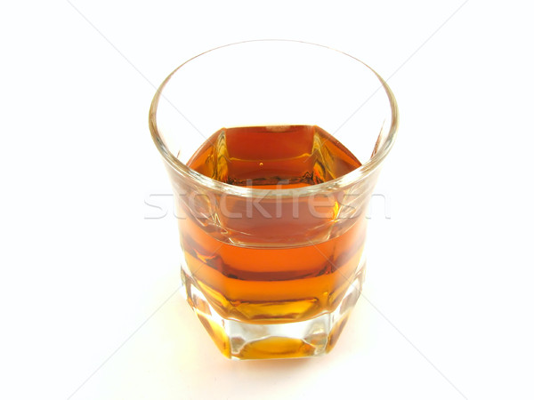 Vidrio licor delicioso aislado blanco fiesta Foto stock © daneel