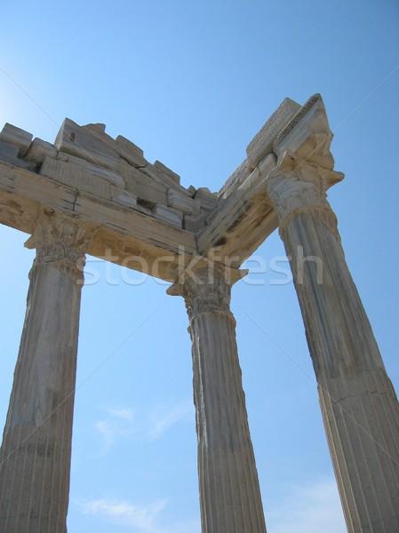 Temple in Side (Turkey) Stock photo © daneel