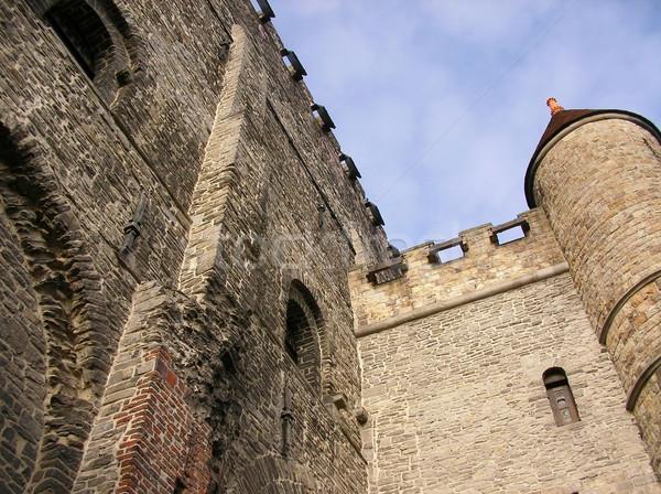 Ravensteen Castle in Gent Stock photo © daneel