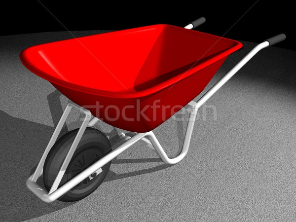 Wheel barrow Stock photo © daneel