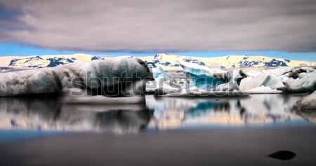 Jokulsarlon glacier lagoon Stock photo © daneel