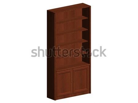 Bookshelf Stock photo © daneel