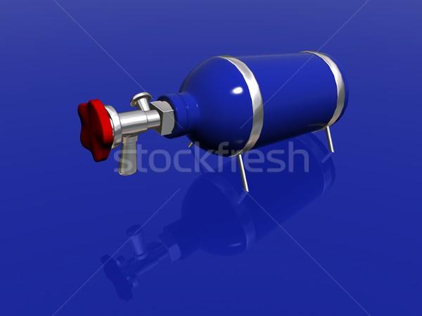 Nitrous Oxide bottle Stock photo © daneel