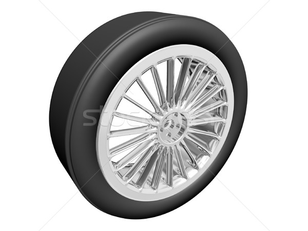 Tire with alloy rim Stock photo © daneel