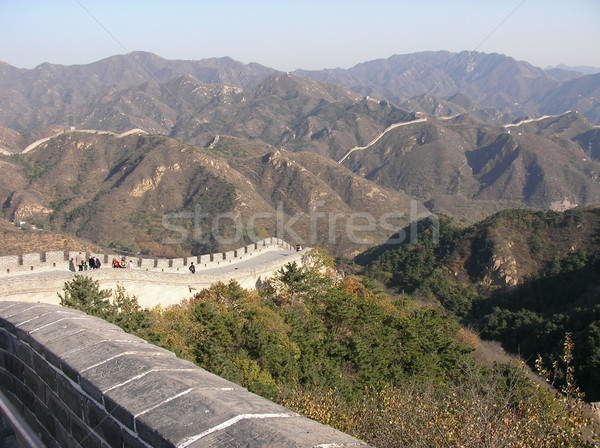 Great Wall in China Stock photo © daneel