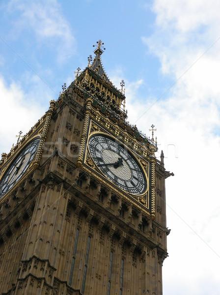 Big Ben in London Stock photo © daneel