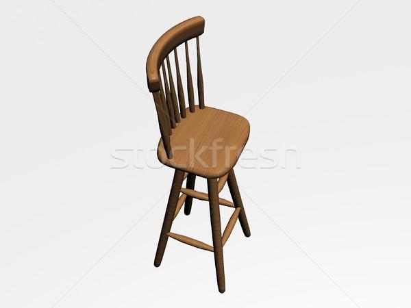 Wooden chair Stock photo © daneel