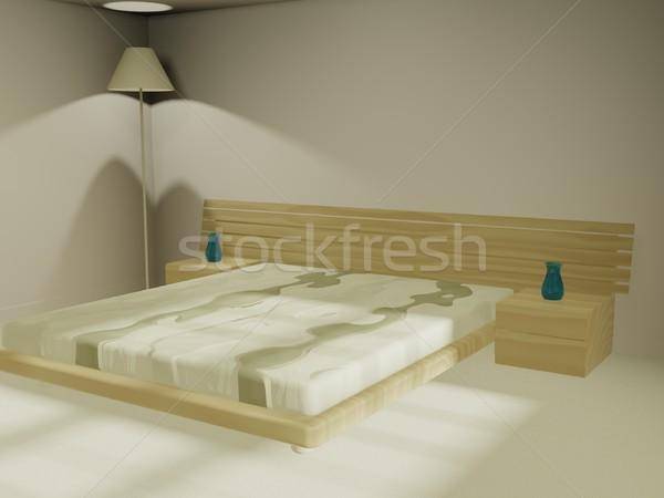 Sleeping room Stock photo © daneel