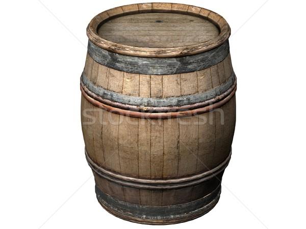 Wooden Barrel Stock photo © daneel