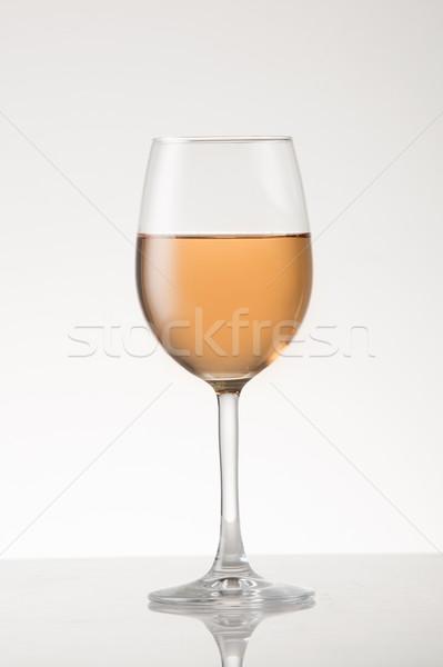 Stock photo: Rose Wine