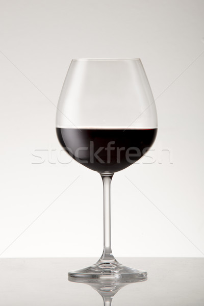 Verre style vin rouge Photo stock © danienel
