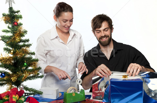 Christmas Preparation Stock photo © danienel
