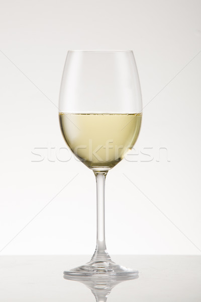 Vin blanc vin verre de vin Photo stock © danienel