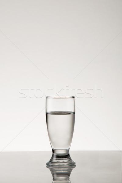 белый дух выстрел стиль стекла Сток-фото © danienel