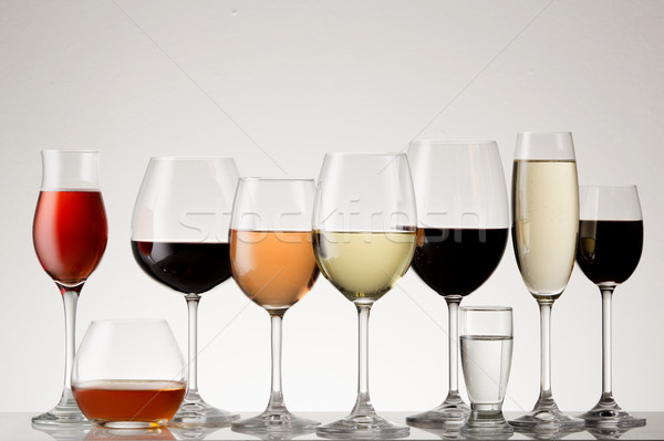 Collection of Stemware Stock photo © danienel