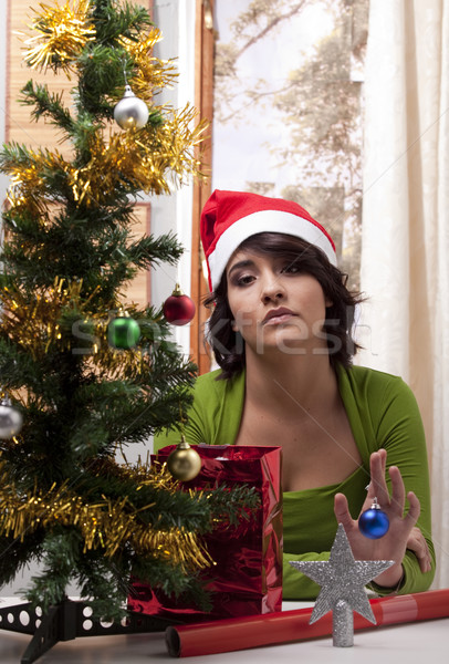 Lonely Xmas Stock photo © danienel