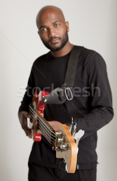 South African Bassist Stock photo © danienel
