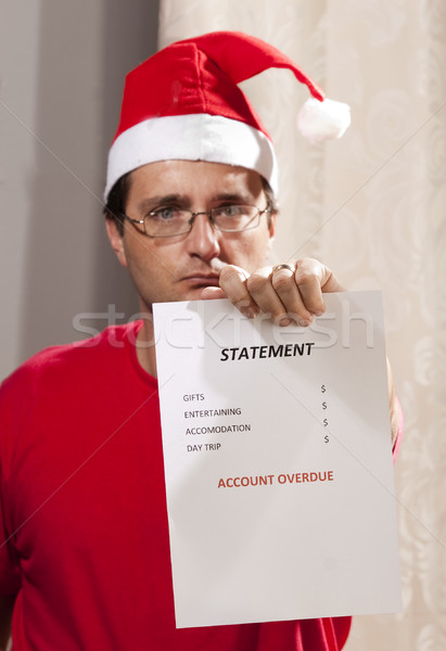 The Stress of Xmas Finances! Stock photo © danienel