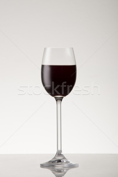 Red dessert wine Stock photo © danienel