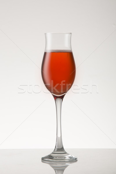 Pink Sparkling wine  Stock photo © danienel