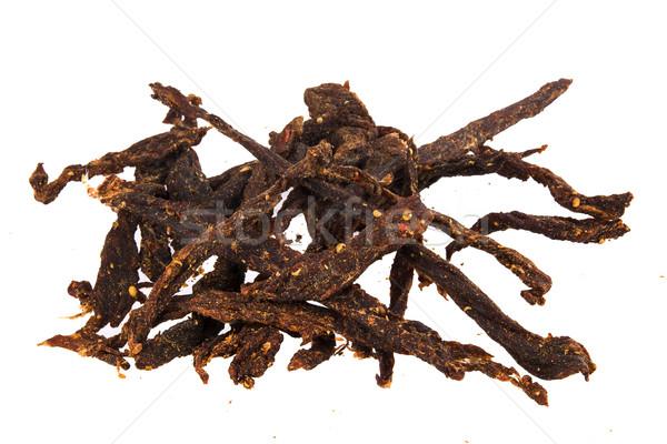 Chili afrique du sud séché boeuf casse-croûte Photo stock © danienel