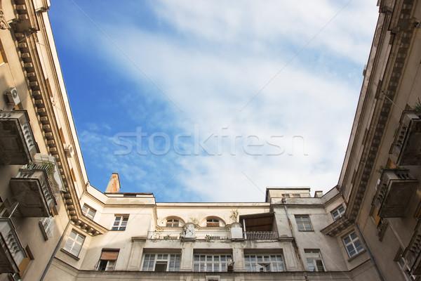 внешний небе средний город стены Сток-фото © danilo_vuletic