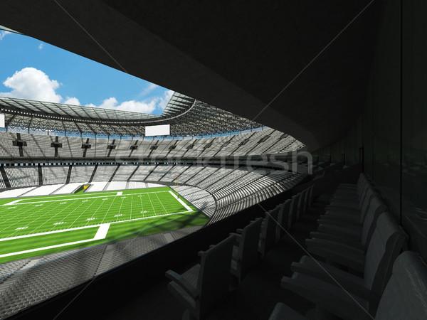 Amerikai futball stadion fehér száz ezer Stock fotó © danilo_vuletic