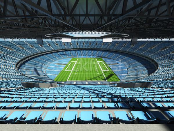 Americano fútbol estadio cielo azul vip Foto stock © danilo_vuletic