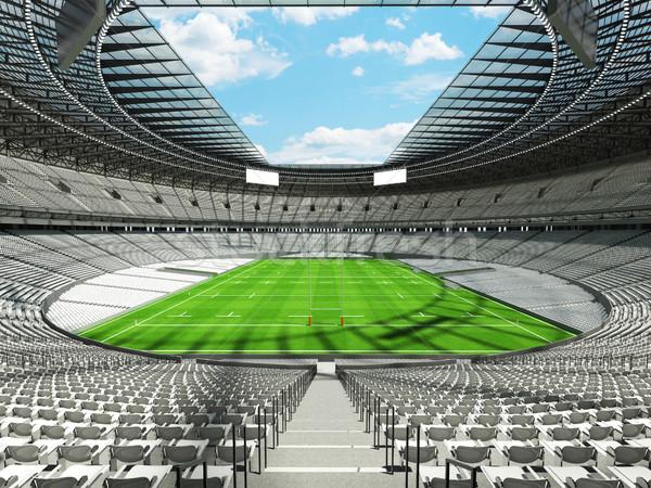 3d визуализации регби стадион белый vip окна Сток-фото © danilo_vuletic