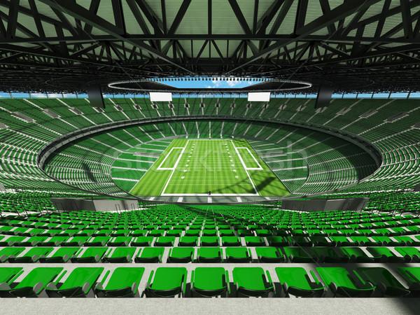 アメリカン サッカー スタジアム 緑 vip ボックス ストックフォト © danilo_vuletic