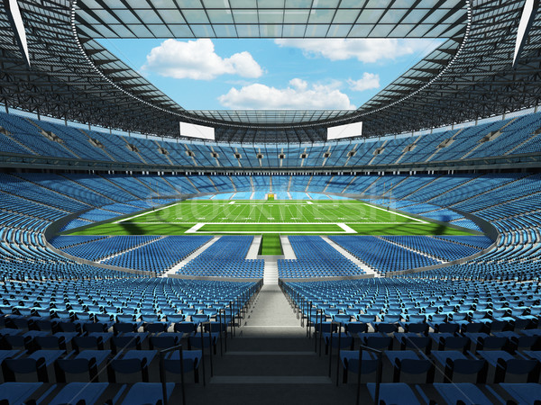 американский футбола стадион небе синий vip Сток-фото © danilo_vuletic