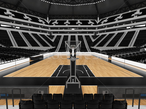 美しい スポーツ アリーナ バスケットボール 黒 vip ストックフォト © danilo_vuletic