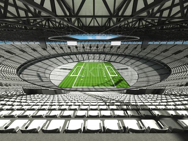 Amerikaanse voetbal stadion witte honderd duizend Stockfoto © danilo_vuletic