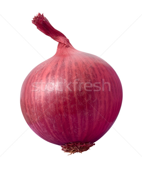 Stock photo: Red Onion isolated