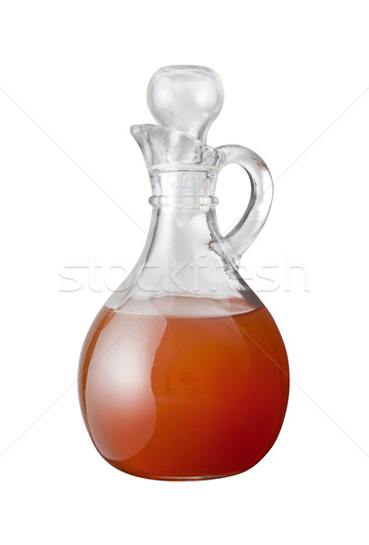 Apple Cider Vinegar with a clipping path Stock photo © danny_smythe