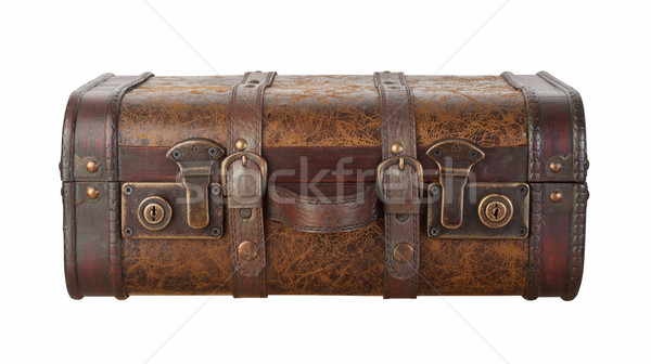 Suitcase Latches Isolated with clipping path Stock photo © danny_smythe