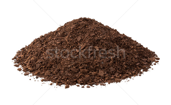 Potting Soil Isolated on white Stock photo © danny_smythe