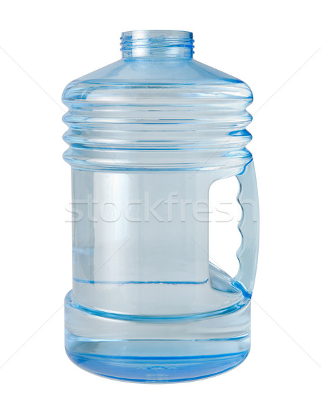 Su sürahi yalıtılmış beyaz şişe Stok fotoğraf © danny_smythe