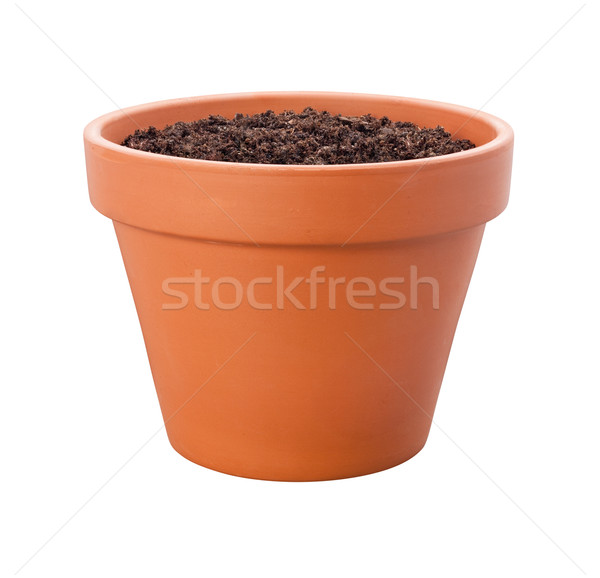 Flower Pot {with clipping path) Stock photo © danny_smythe