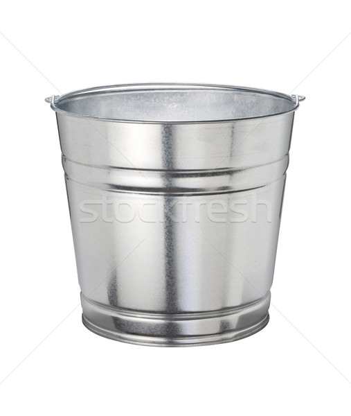 Bucket isolated with a clipping path Stock photo © danny_smythe