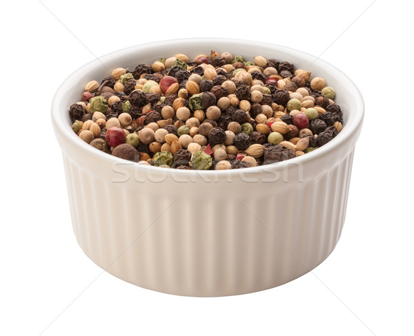 Rainbow Peppercorn Isolated clipping path Stock photo © danny_smythe