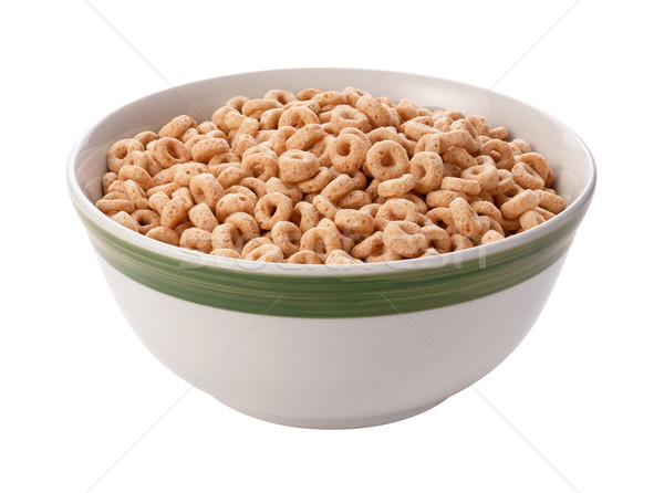 Oat Cereal Isolated with clipping path Stock photo © danny_smythe