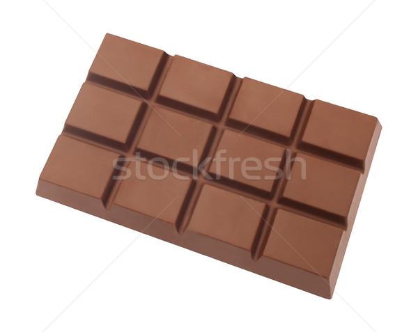 шоколадом изолированный белый кухне конфеты приготовления Сток-фото © danny_smythe