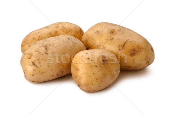 Yukon Gold Potatoes isolated Stock photo © danny_smythe