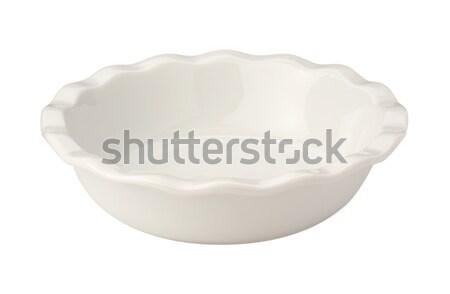 Beyaz turta yemek yalıtılmış konteyner Stok fotoğraf © danny_smythe