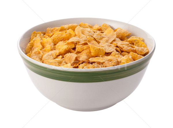 Corn Flakes Isolated with clipping path Stock photo © danny_smythe